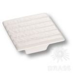 3006 WHITE Ручка кнопка керамика, белый