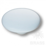 Y BLUE Ручка кнопка керамика, голубой