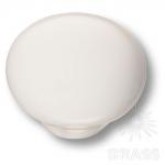 3005-000 Ручка кнопка керамика, белый