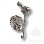 Крючок мебельный, старое серебро, 4210.0119.094