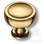 Ручка кнопка современная классика, глянцевое золото, 1915 0038 GL