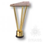 Опора мебельная, глянцевое золото, KAX-0740-0220-А09