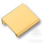 8926 0032 GL Ручка профиль модерн, глянцевое золото 32  мм