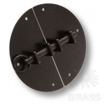 Засов на сундук, цвет чёрный, 5201-14