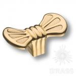 Ручка кнопка современная классика, глянцевое золото, 4500 0008 GL