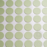 Заглушка-самоклеящаяся Фисташковый (6501), эксцентрик, d17 (70 шт/лист), D17U6501