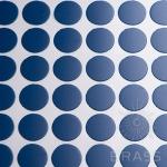 Заглушка-самоклеящаяся Синий (7601), эксцентрик, d17 (70 шт/лист), D17U7601