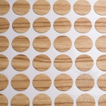 Заглушка-самоклеящаяся Маслина светлая (8912) эксцентрик, d17 (70 шт/лист), D17U8912