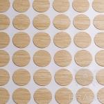 Заглушка-самоклеящаяся Коко боло (8995), эксцентрик, d17 (70 шт/лист), D17U8995