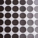 Заглушка-самоклеящаяся Дуб миланский темный (9623), эксцентрик, d17 (70 шт/лист), D17U9623