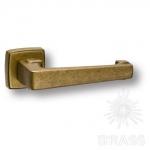 Ручка дверная, чёрный/матовый никель, HA104RO11 AL6-NB\AL6 AZUR