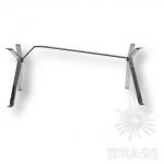 Опора мебельная, глянцевый хром, KOM-0001-0720-A01 (BEAMS L-1800 mm)